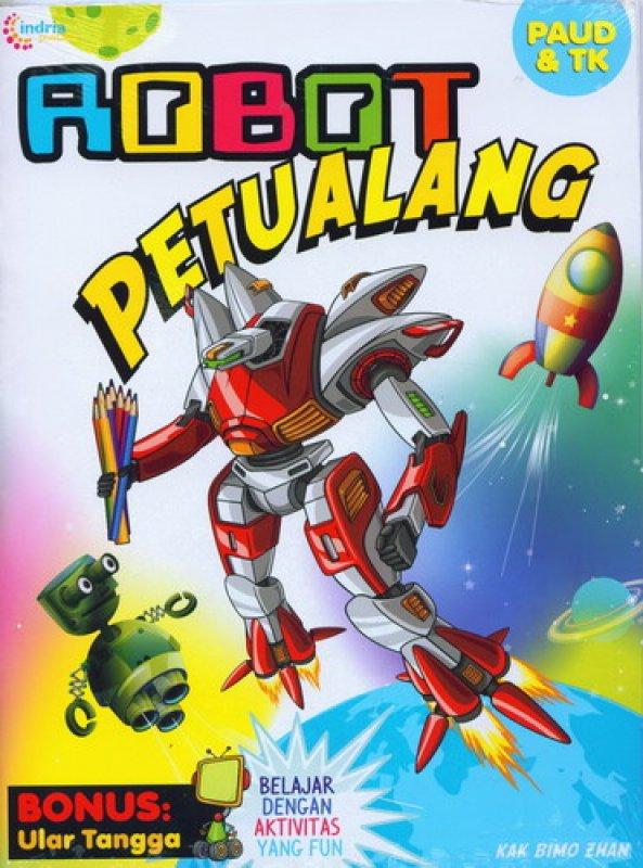 Cover Buku Robot Petualang [Bonus: Ular Tangga]