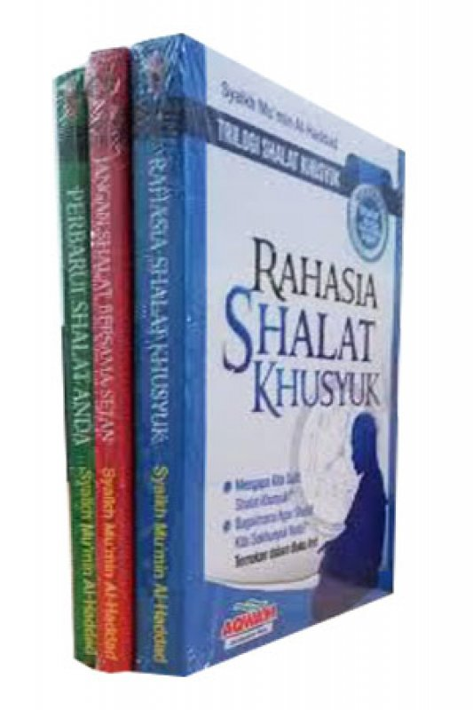 Cover Buku Trilogi Shalat Khusyuk