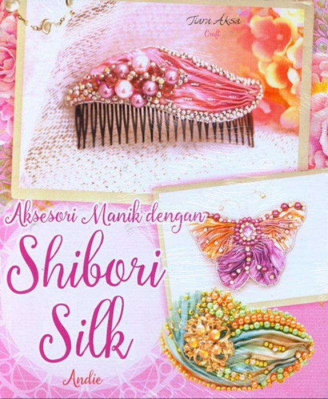 Cover Buku Aksesori Manik Dengan Shibori Silk