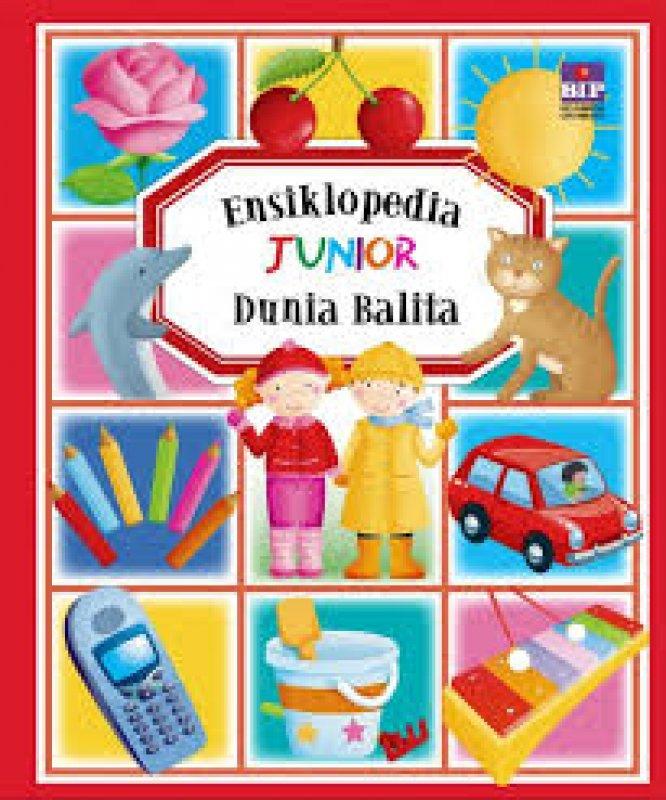 Cover Buku Ensiklopedia Junior Dunia Balita