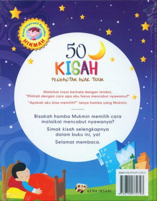 Cover Belakang Buku 50 Kisah Pengantar Anak Tidur [Edisi Baru Full Color]