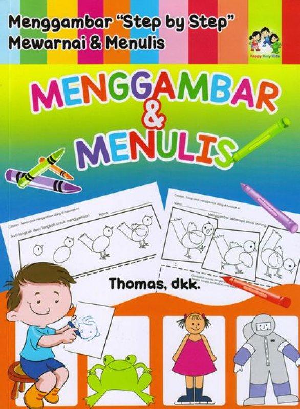 Cover Buku Menggambar Dan Menulis