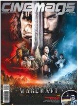 Majalah Cinemags Cover Warcraft | Edisi 202 - 2016