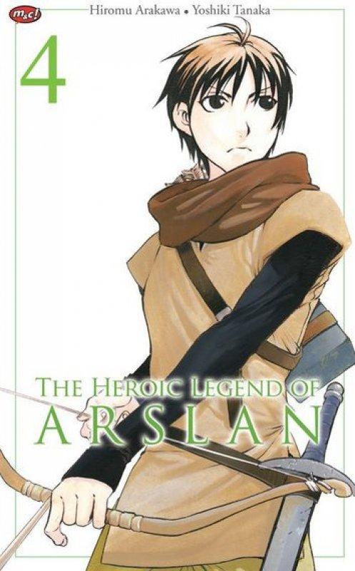 Cover Buku The Heroic Legend of Arslan 04