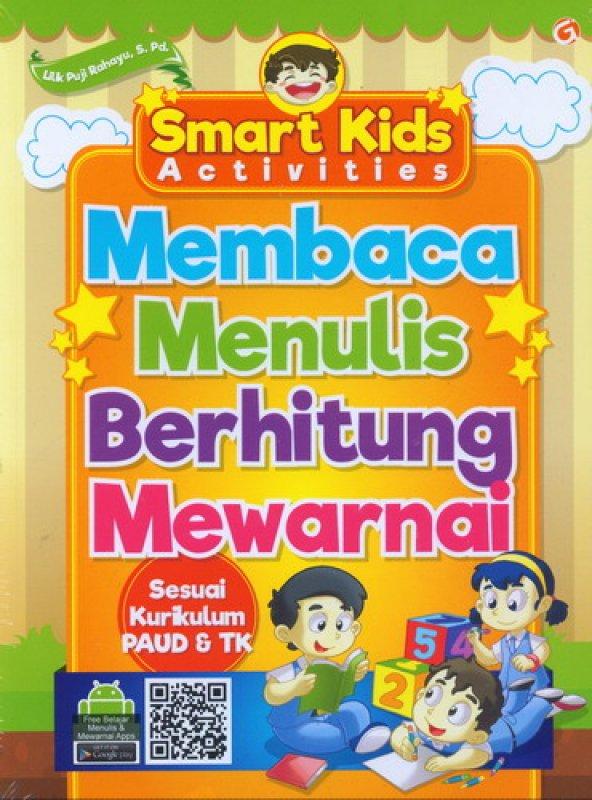 Cover Buku Smart Kids Activities Membaca Menulis Berhitung Mewarnai