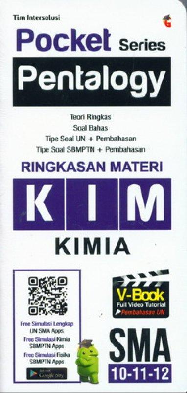 Cover Buku Pocket Series Pentalogy KIMIA SMA 10-11-12