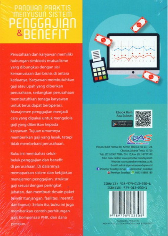 Cover Belakang Buku Panduan Praktis Menyusun Sistem Penggajian dan Benefit