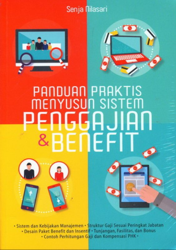 Cover Buku Panduan Praktis Menyusun Sistem Penggajian dan Benefit
