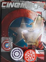 Majalah Cinemags Special Edition Cover Captain America - Civil War | Edisi 201 - Juni 2016