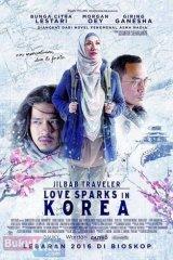 Jilbab Traveler: Love Sparks In Korea (Cover Film)