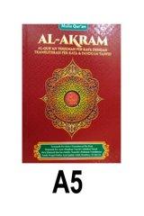 AL-AKRAM Ukuran A5 Per Kata (Cover Merah)