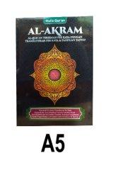 Al-Akram A5 (Cover Hitam)
