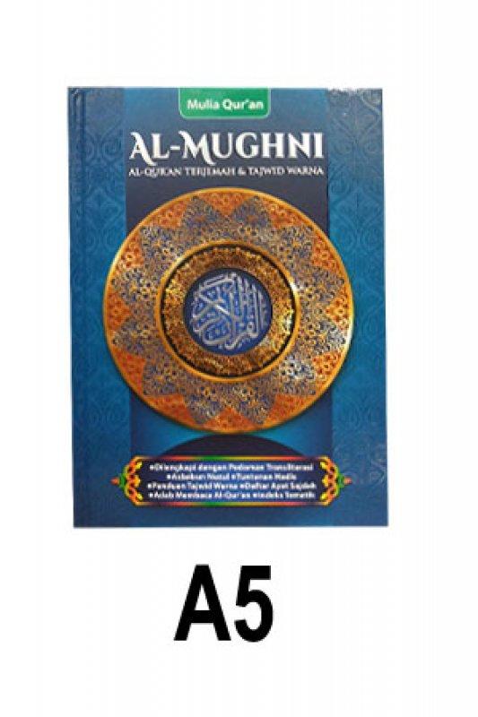 Cover Buku Al-Mughni A5 (Cover Biru)