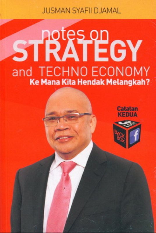 Cover Buku Notes On Strategy and Techno Economy