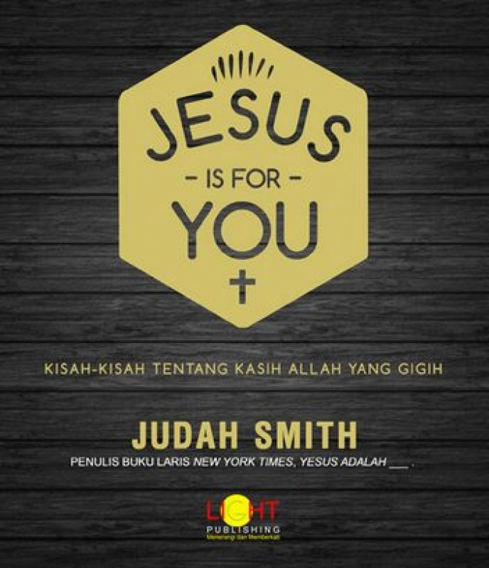 Cover Buku Jesus Is For You