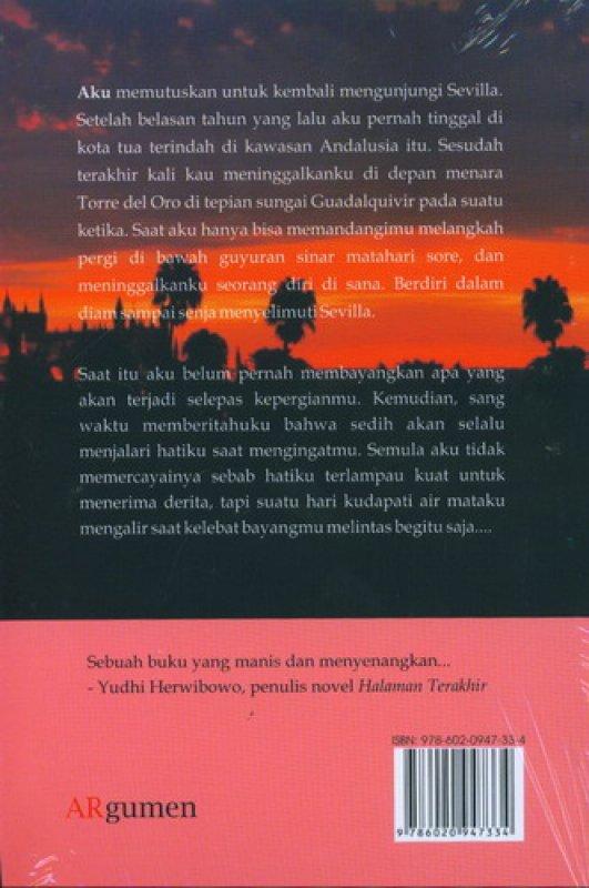 Cover Belakang Buku Sehelai Senja di Sevilla