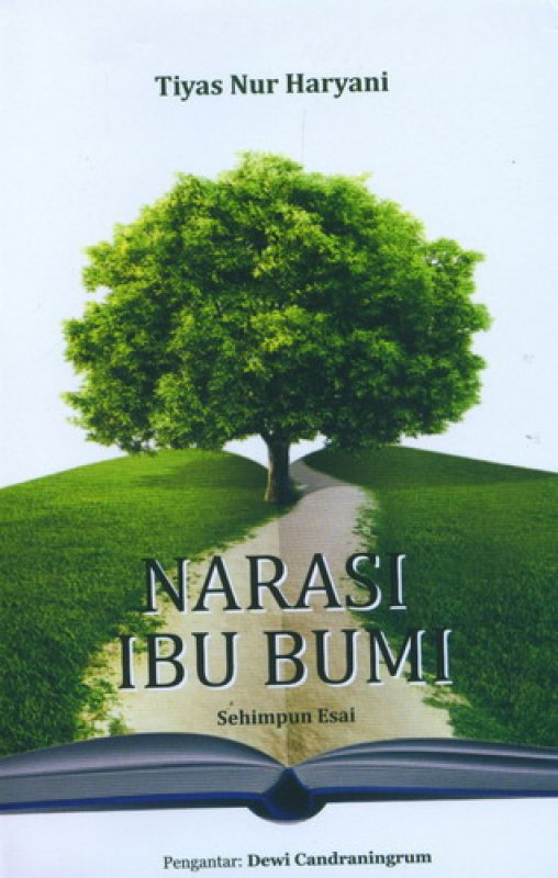 Cover Buku Narasi Ibu Bumi: Sehimpun Esai