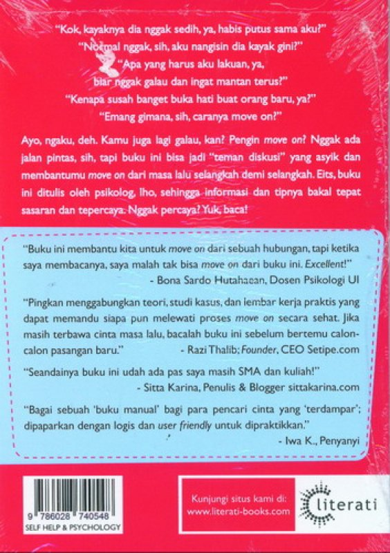 Cover Belakang Buku Bukan Move On Biasa