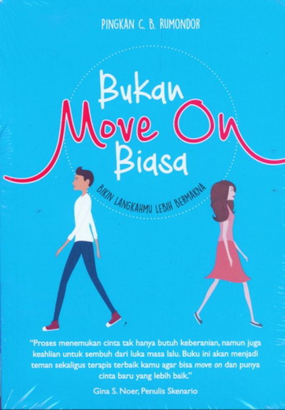 Cover Buku Bukan Move On Biasa