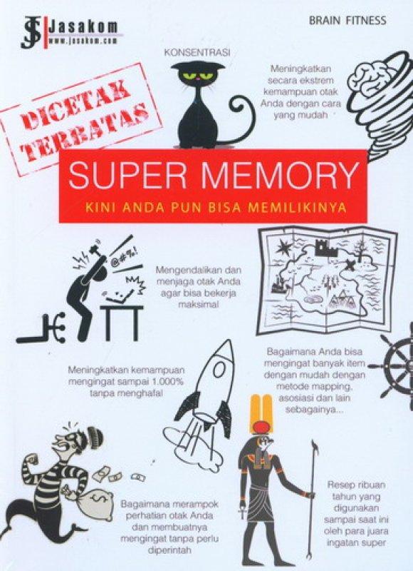 Cover Buku Super Memory: Kini Anda Pun Bisa Memilikinya