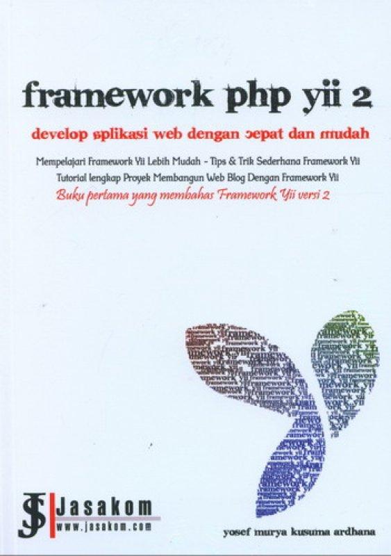 Cover Buku Framework php yii 2