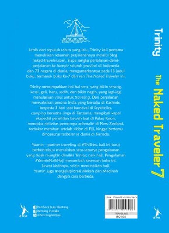 Cover Belakang Buku The Naked Traveler 7 [Edisi Ttd Penulis]