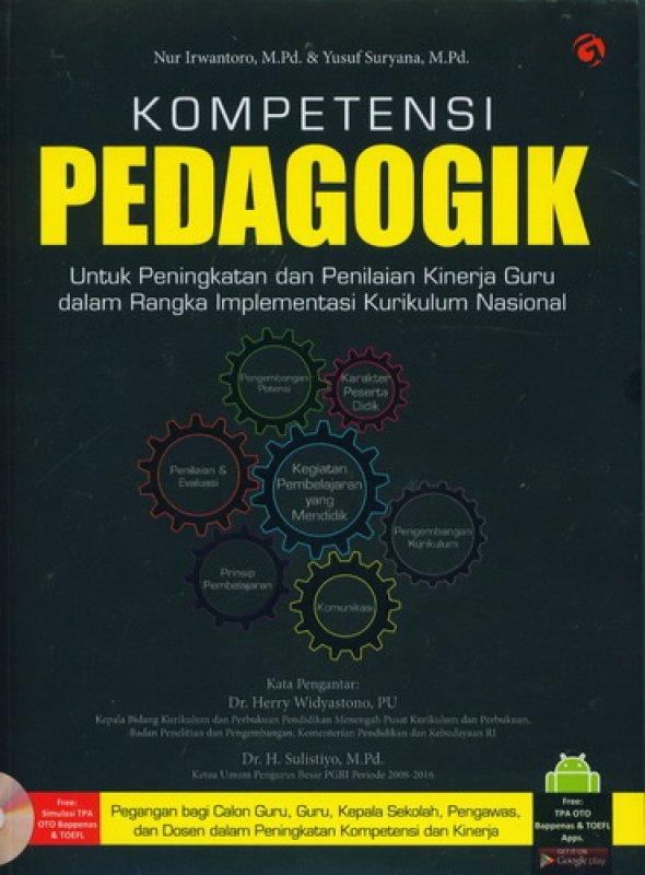 Cover Buku Kompetensi Pedagogik