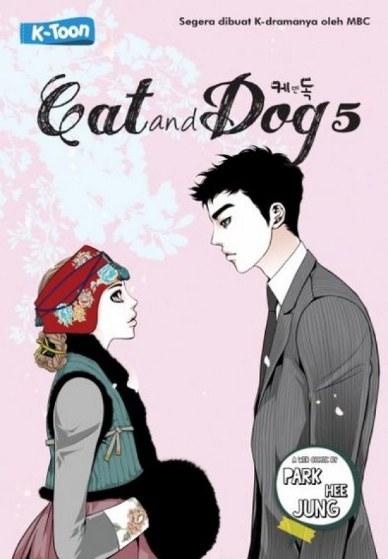 Cover Buku Cat and Dog #5