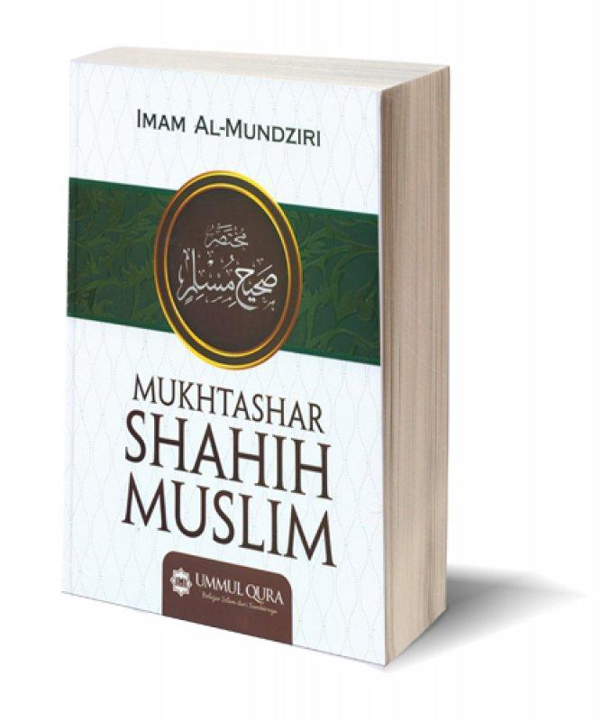 Cover Buku Mukhtashar Shahih Muslim