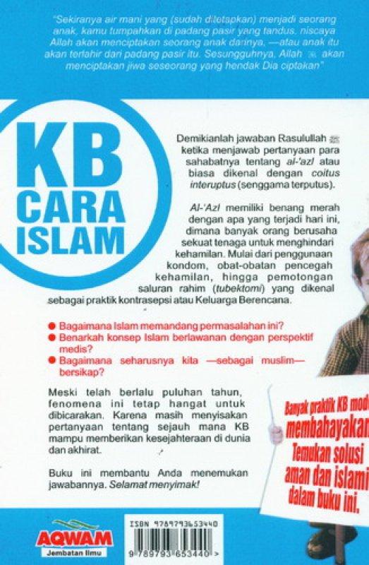 Cover Belakang Buku KB Cara Islam