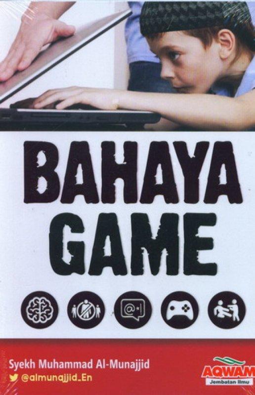 Cover Buku Bahaya Game