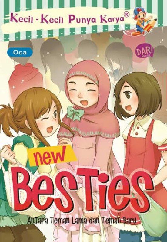 Cover Buku Kkpk.New Besties (Fresh Stock)