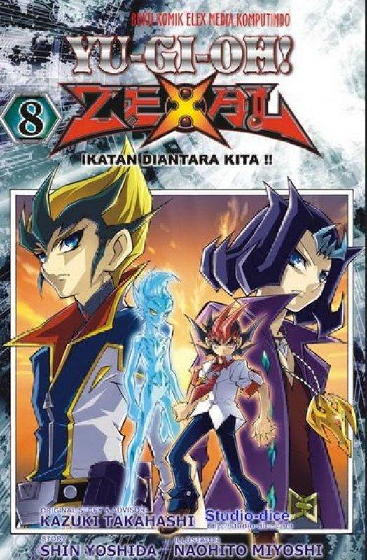 Cover Buku Yu-Gi-Oh Zexal 08
