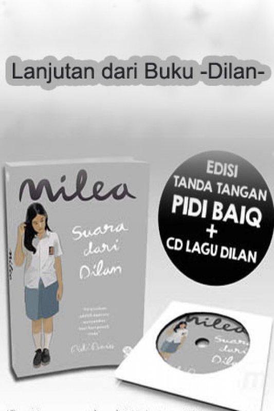 Cover Buku Milea Suara Dari Dilan
