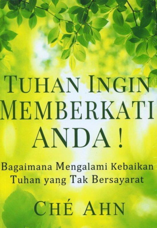 Cover Buku Tuhan Ingin Memberkati Anda!
