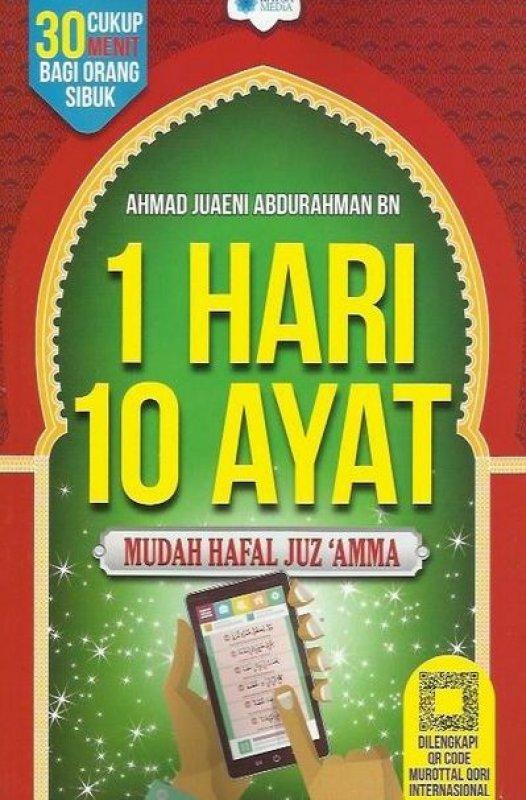 Cover Buku 1 Hari 10 Ayat - Mudah Hafal Juz Amma