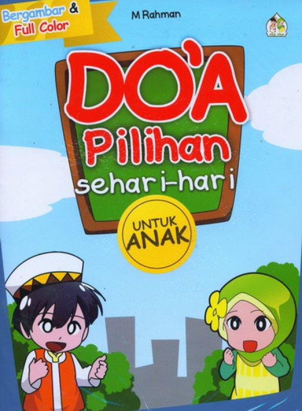 Cover Buku Doa Pilihan Sehari-Hari untuk Anak
