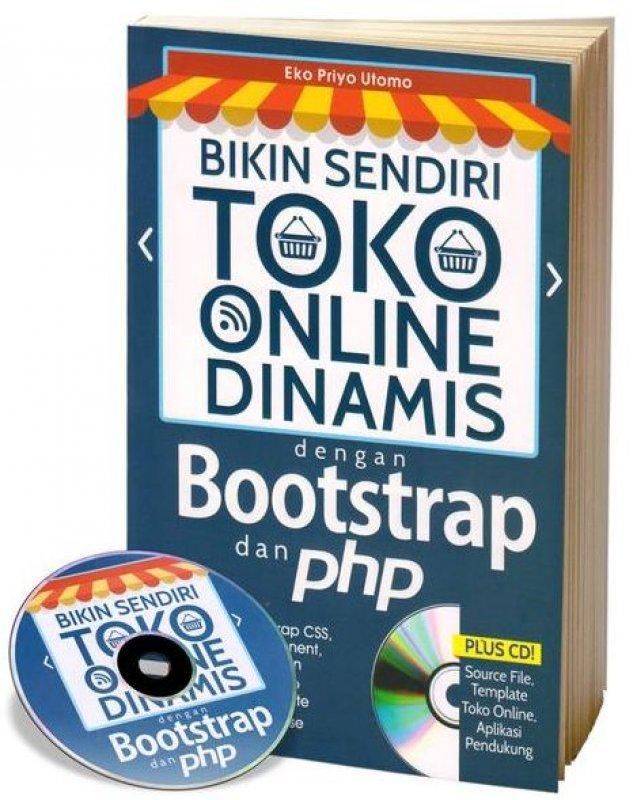 toko online dinamis dengan bootstrap