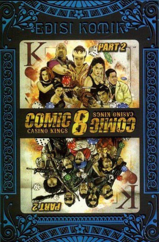 Cover Buku Comic 8 Casino Kings Edisi Komik Part 2