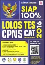 Siap 100% Lolos Tes CPNS CAT 2016 (Promo Best Book)