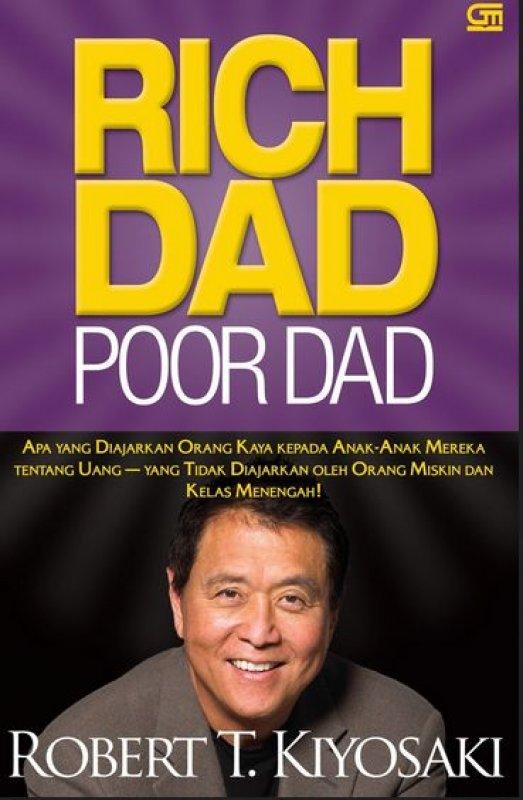 Cover Buku Rich Dad Poor Dad (Edisi Revisi)