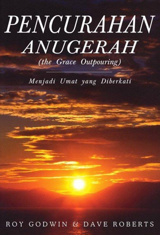 Cover Buku Pencurahan Anugerah (the Grace Outpouring)