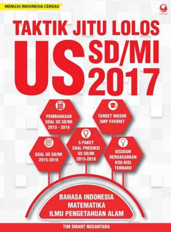 Cover Buku Taktik Jitu Lolos Us SD/Mi 2017