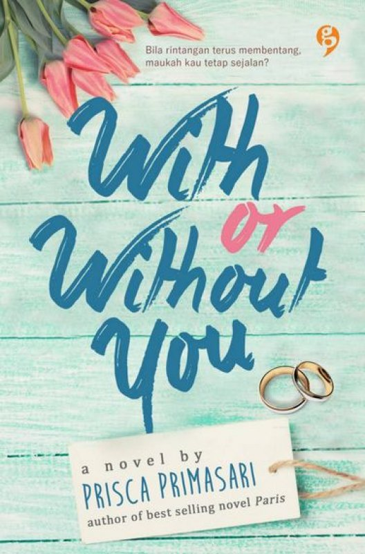 Cover Buku With or Without You (Non TTD)