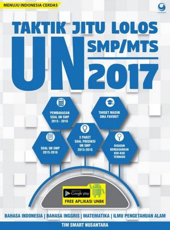 Cover Buku Taktik Jitu Lolos Un Smp/Mts 2017