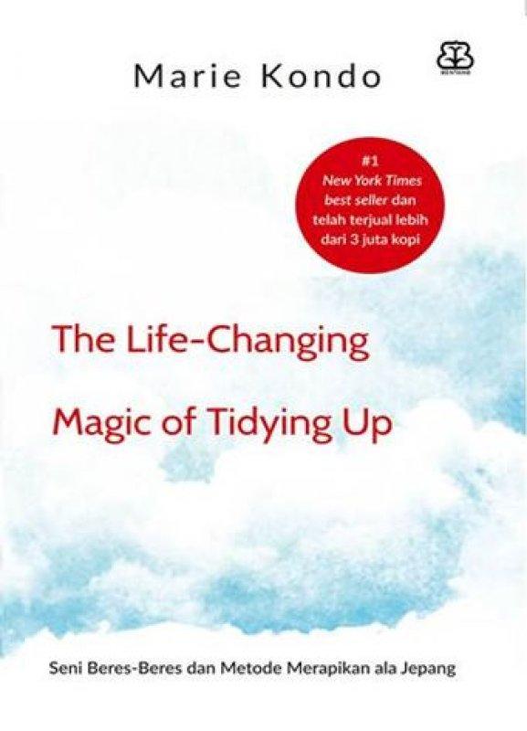 Cover Buku The Life Changing Magic Of Tidying Up