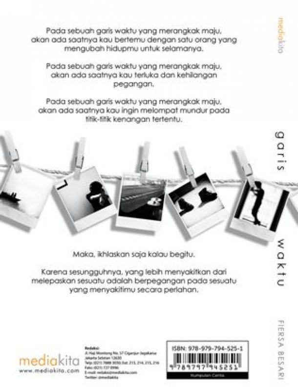 Cover Belakang Buku Garis Waktu : Sebuah Perjalanan Menghapus Luka (Promo Best Book)