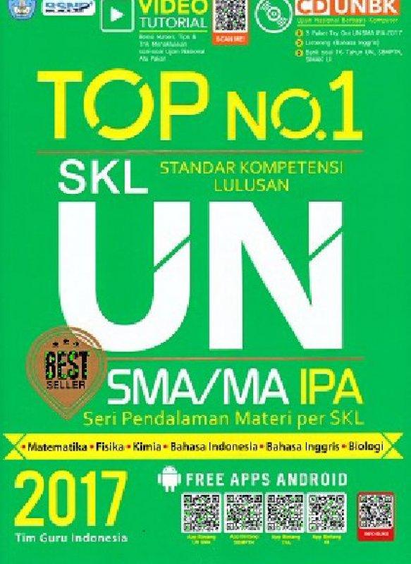 Cover Buku TOP NO 1 SKL UN SA/MA IPA 2017