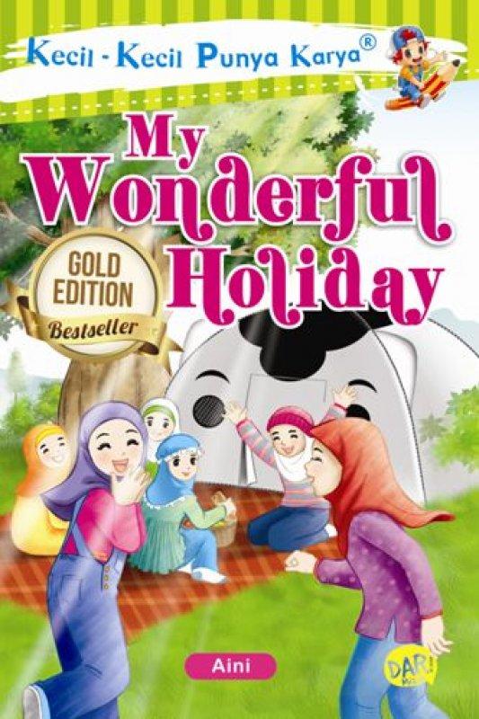 Cover Buku Kkpk.My Wonderful Holiday-New (Fresh Stock)