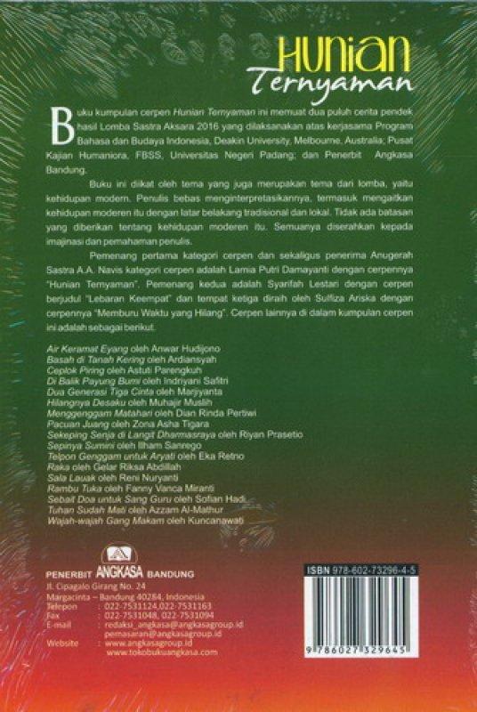 Cover Belakang Buku Hunian Ternyaman